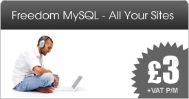 Freedom MySQL - All Your Sites